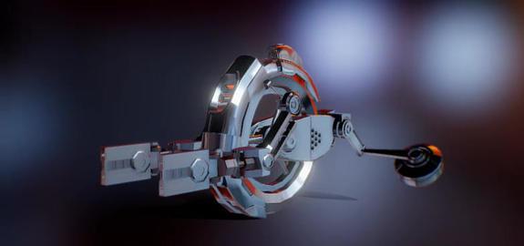 Subdiv ready Drone 3D Model