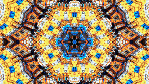 Kaleidoscope abstract 4k918 Live Action