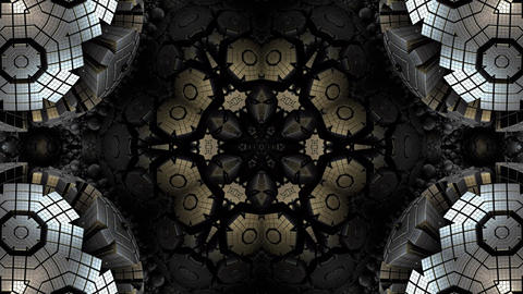 Kaleidoscope abstract 4k919 Live Action