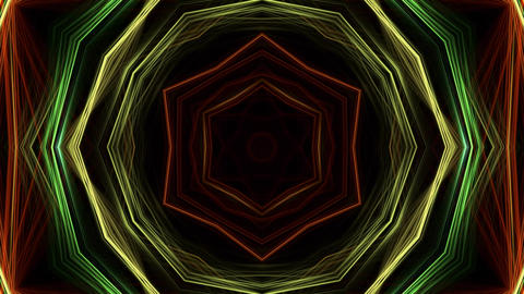 Kaleidoscope abstract 4k923 Live Action