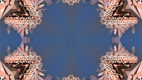 Kaleidoscope abstract 4k985 Live Action