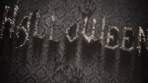 Animation text halloween and mystical animation background 5 Live Action