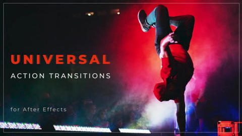 Universal Action Transitions After Effects Template