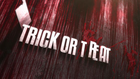 Animation text trick or treat and mystical animation halloween background 13 Live Action