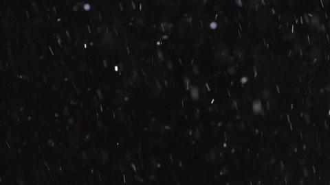Winter Snowfall Slow Motion Footage