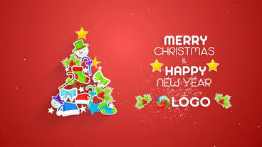 Simple Christmas Plantilla de After Effects