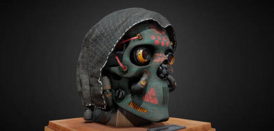 Skull trophy 3D Model