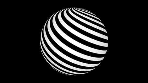 Rotating sphere Animation