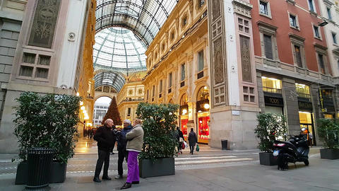 Christmas in Milan/Italy – December 2016 afternoon Footage