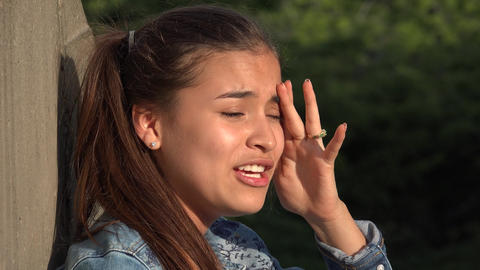 Crazy Erratic Behavior Of Teen Girl Live Action