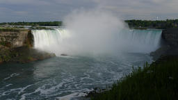 Niagara Falls view from Canadian side Live Action