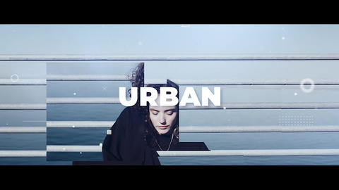 Urban Upbeat Plantilla de Apple Motion