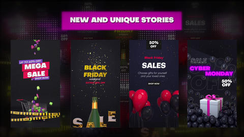 Sale Instagram Stories After Effects Template