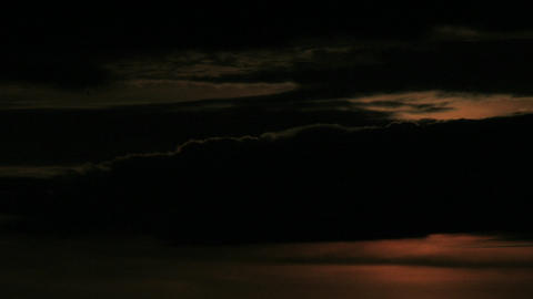 Clouds stretch to the horizon Stock Video Footage