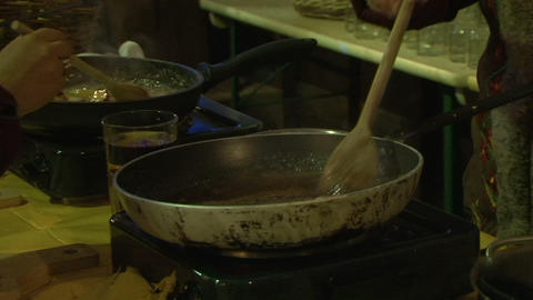 food hot Stock Video Footage