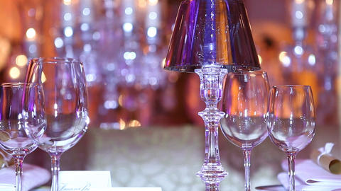 glass blur Stock Video Footage