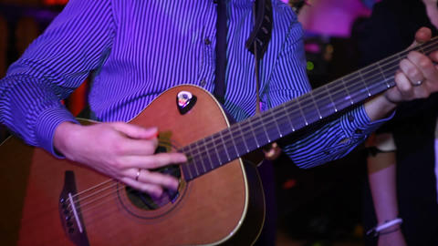 guitar 01 Stock Video Footage