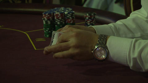 poker 03 Stock Video Footage