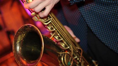 saxophone 02 Footage
