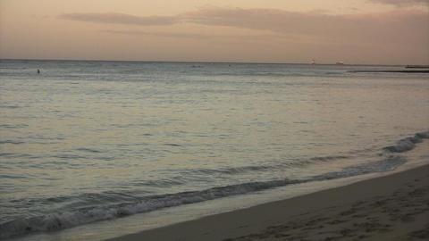 Morning Waikiki Beach01 Footage