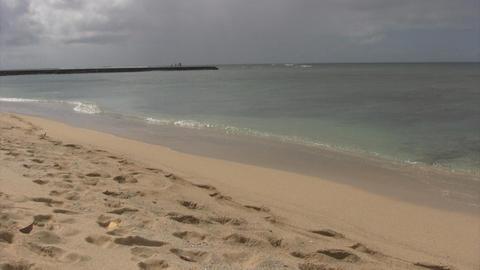 Waikiki Beach02 Stock Video Footage