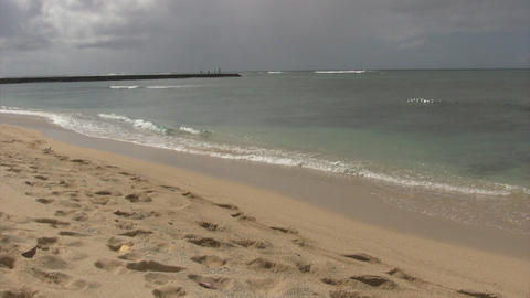 Waikiki Beach02 Footage