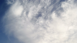 Clouds High Contrast 2 Timelapse stock footage