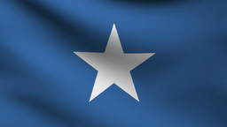Somalia flag Animation