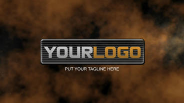 3D logo reveal After Effects Template