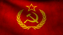 URSS flag Animation