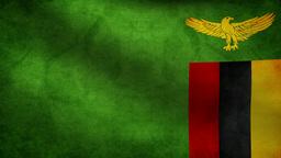 Zambia flag Animation