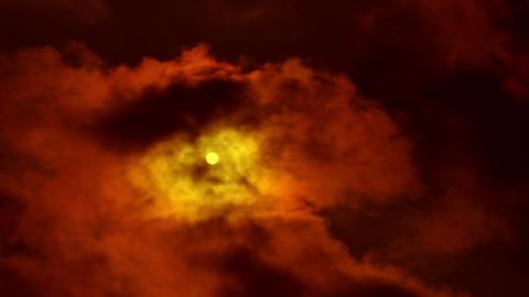 4K. time lapse dark sky. FULL HD, 4096x2304 Stock Video Footage