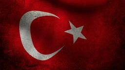 Turkey flag Animation