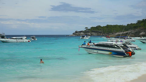 Similan Beach Stock Video Footage