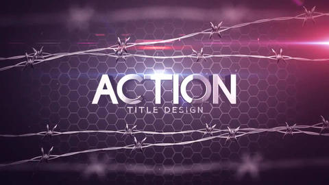 Avtion title Design After Effects Template