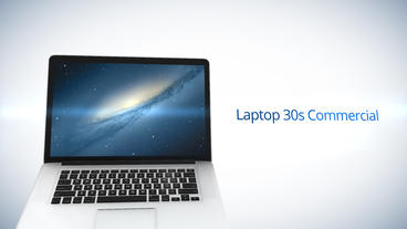 Laptop 30s Commercial - Apple Motion and Final Cut Pro X Template Apple Motion Template