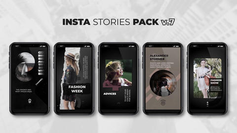 Insta Stories Pack v 7 After Effects Template