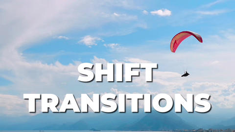 Shift Transitions After Effects Template