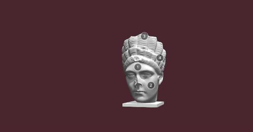 Marciana Bust 3D Model