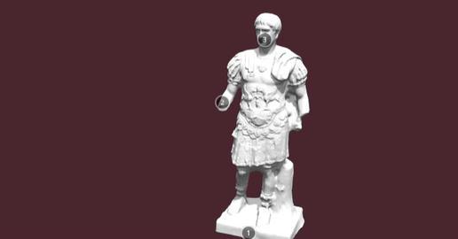 Trajan Cuirass 3D Model
