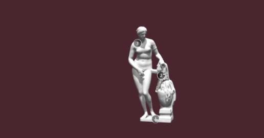 Aphrodite Knidos 3D Model