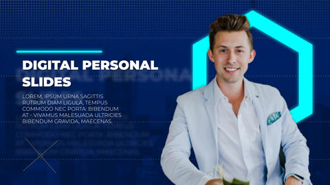 Digital Personal Slides After Effects Template
