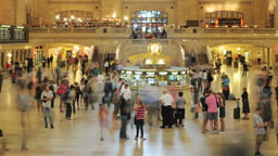 New York City Grand Central Timelapse Footage