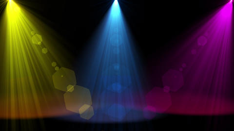 Colorful spot light animation Animation