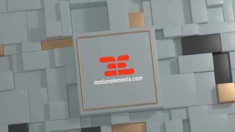Pillar Logo Plantilla de Apple Motion