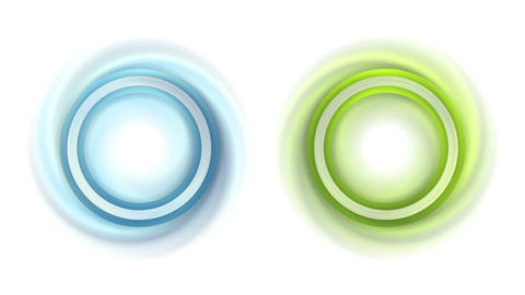 Abstract round swirls labels motion design Animation