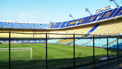 "Boca Junios Stadium ""La Bobmbonera"" Footage"