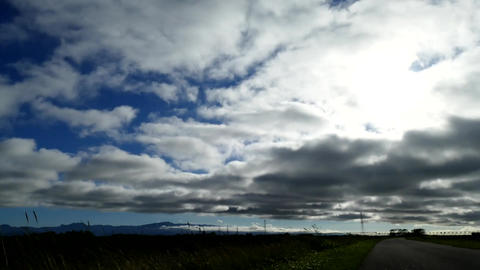 flowing clouds Time Lapse Footage