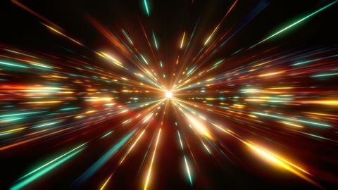 Multi-Color Space Light Animation