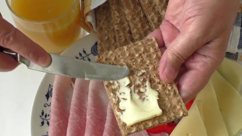 Big group of meat, cheese, bread, juice ライブ動画